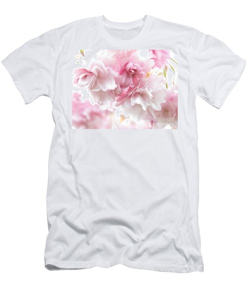Pink April Men's T-Shirt (Athletic Fit)