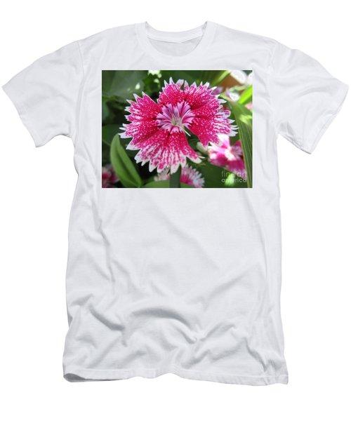Pink Carnation  Men's T-Shirt (Athletic Fit)