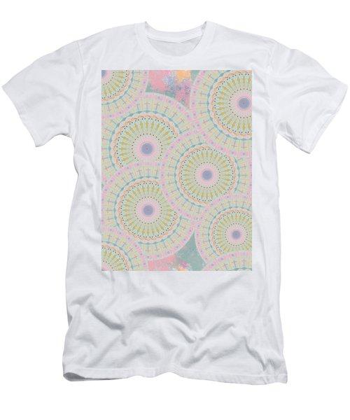 Pink Mandala Pattern Men's T-Shirt (Athletic Fit)