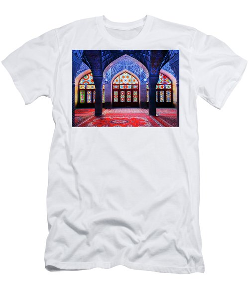 Pink Mosque, Iran Men's T-Shirt (Athletic Fit)