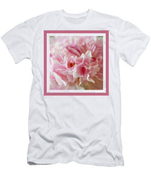 Men's T-Shirt (Athletic Fit) featuring the photograph Pink Perfection by Wendy Wilton