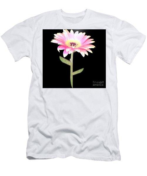 Pink Pink Delight Men's T-Shirt (Slim Fit) by Belinda Threeths