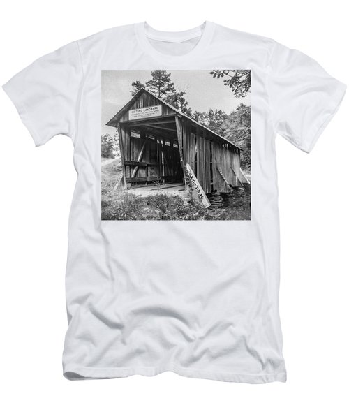 Pisgah Covered Bridge No. 1 Men's T-Shirt (Athletic Fit)