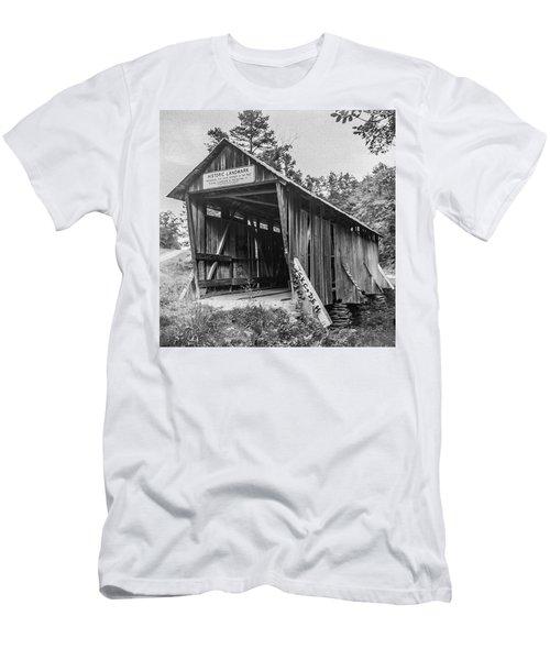 Pisgah Covered Bridge No. 1 Men's T-Shirt (Athletic Fit)