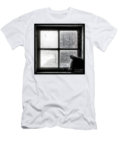 Men's T-Shirt (Slim Fit) featuring the photograph Pitcher In The Window by Brad Allen Fine Art