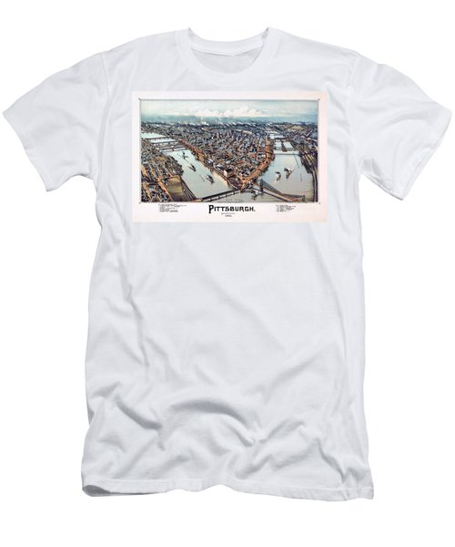 Pittsburgh Pennsylvania 1902 Men's T-Shirt (Athletic Fit)