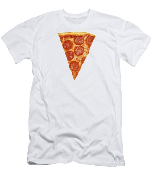 Pizza Slice Men's T-Shirt (Athletic Fit)