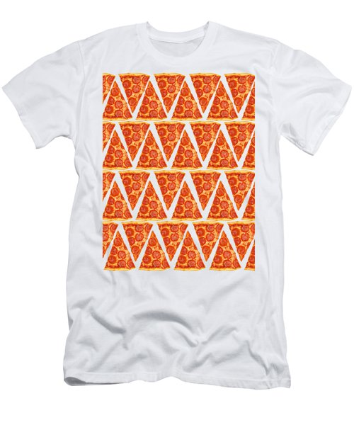 Pizza Slices Men's T-Shirt (Slim Fit) by Diane Diederich