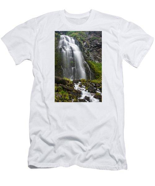 Plaikni Falls Men's T-Shirt (Slim Fit) by Greg Nyquist