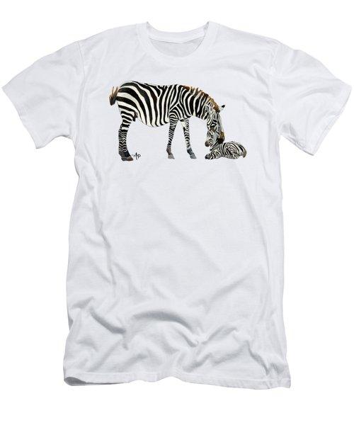 Plains Zebras Men's T-Shirt (Athletic Fit)