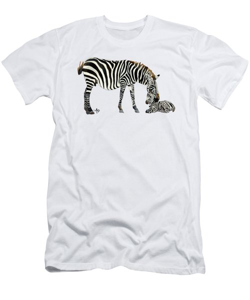 Plains Zebras Men's T-Shirt (Athletic Fit)
