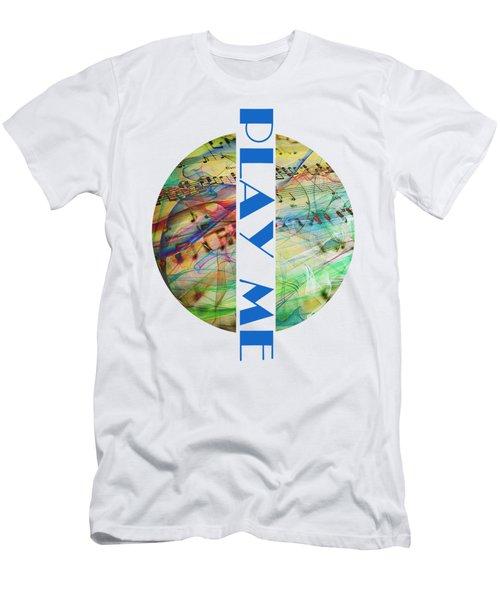 Play Me Men's T-Shirt (Athletic Fit)