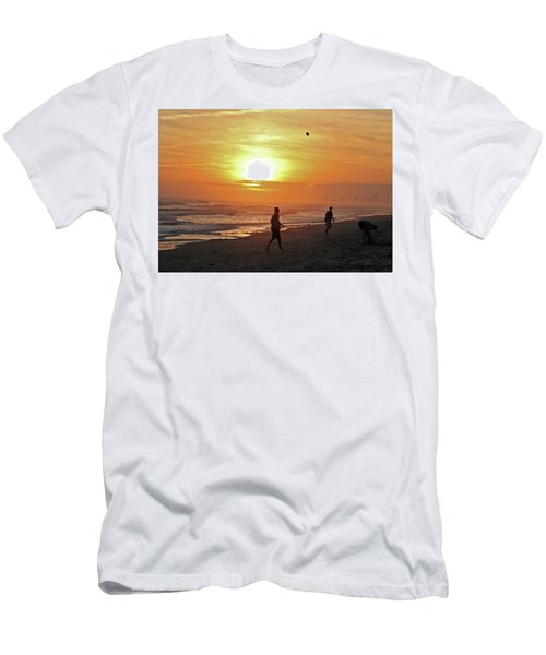 Play On The Beach Men's T-Shirt (Athletic Fit)