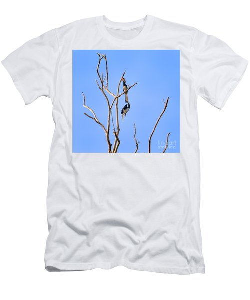 Play Time Hornbills Men's T-Shirt (Athletic Fit)