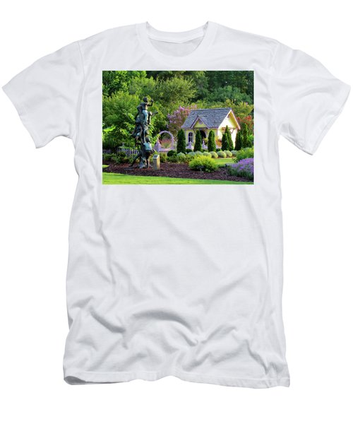 Playhouse In The Garden Men's T-Shirt (Athletic Fit)