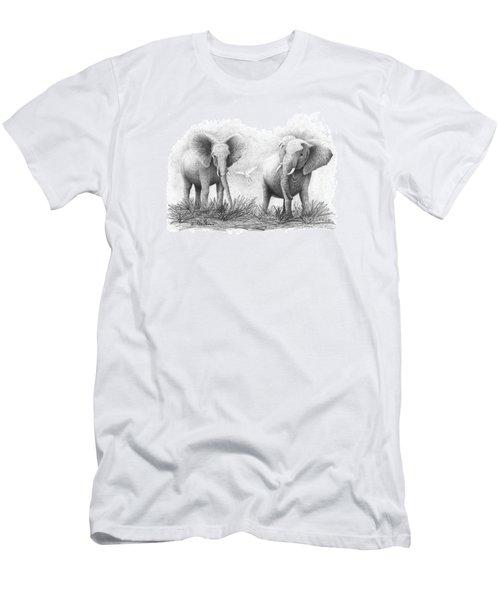 Playtime Men's T-Shirt (Slim Fit) by Phyllis Howard