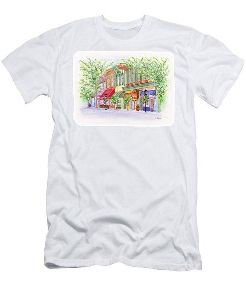 Plaza Shops Men's T-Shirt (Athletic Fit)