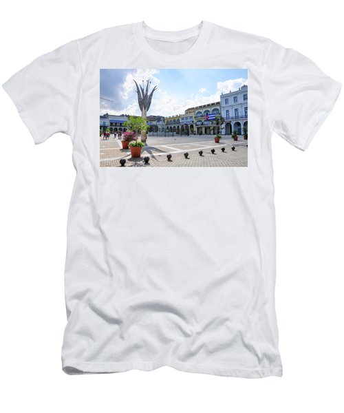 Plaza Vieja Men's T-Shirt (Athletic Fit)