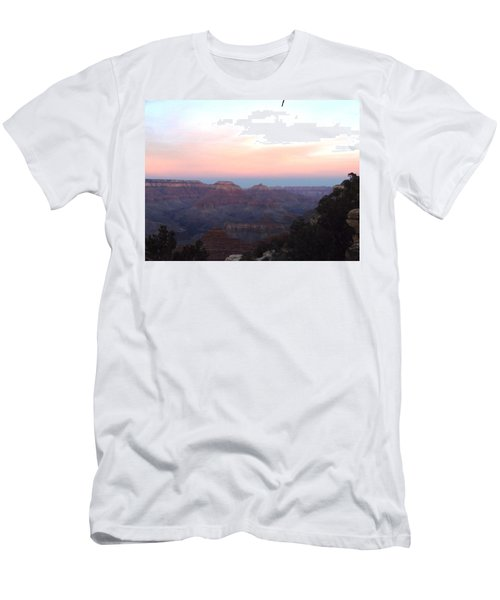 Pleasant Evening At The Canyon Men's T-Shirt (Athletic Fit)