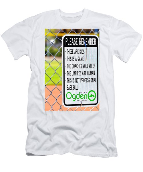 Please Remember 28 Men's T-Shirt (Athletic Fit)
