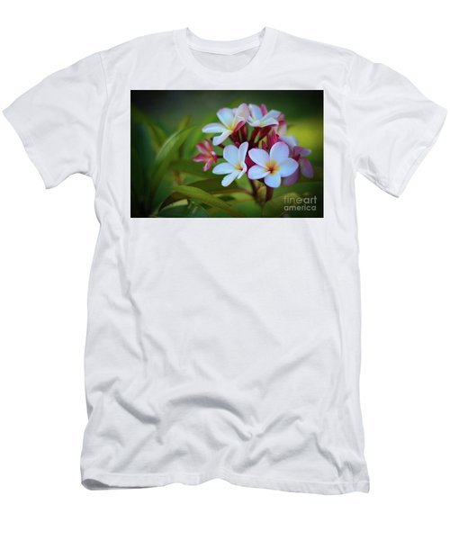 Plumeria Sunset Men's T-Shirt (Slim Fit) by Kelly Wade