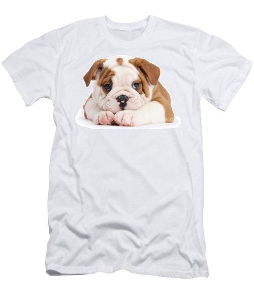 Po-faced Bulldog Men's T-Shirt (Athletic Fit)
