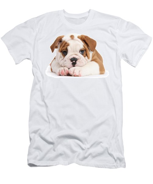 Po-faced Bulldog Men's T-Shirt (Athletic Fit)