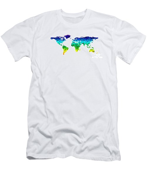 Point Map Men's T-Shirt (Athletic Fit)