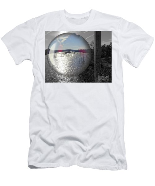 Point Of View Men's T-Shirt (Slim Fit) by Melissa Messick
