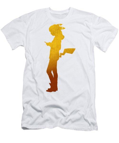 Pokegirl 2 Men's T-Shirt (Athletic Fit)