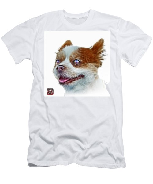 Pomeranian Dog Art 4584 - Wb Men's T-Shirt (Athletic Fit)