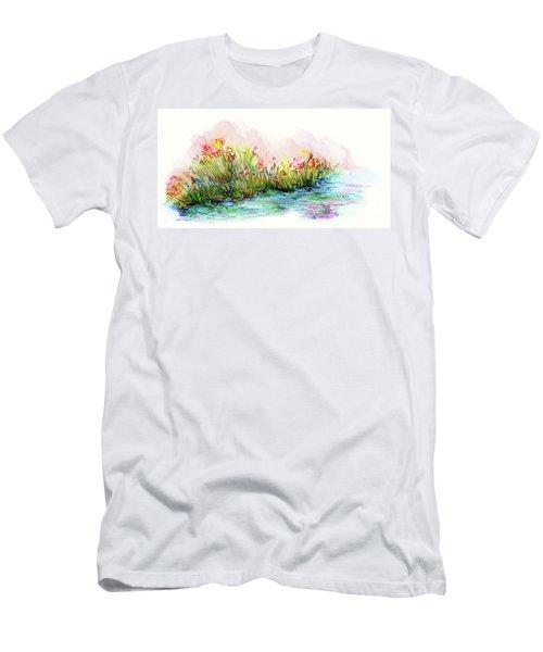 Sunrise Pond Men's T-Shirt (Athletic Fit)