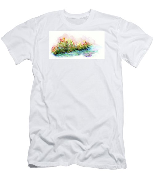 Sunrise Pond Men's T-Shirt (Athletic Fit)