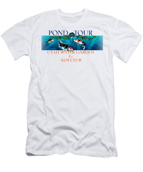 Pond Tour Men's T-Shirt (Slim Fit) by Rob Corsetti