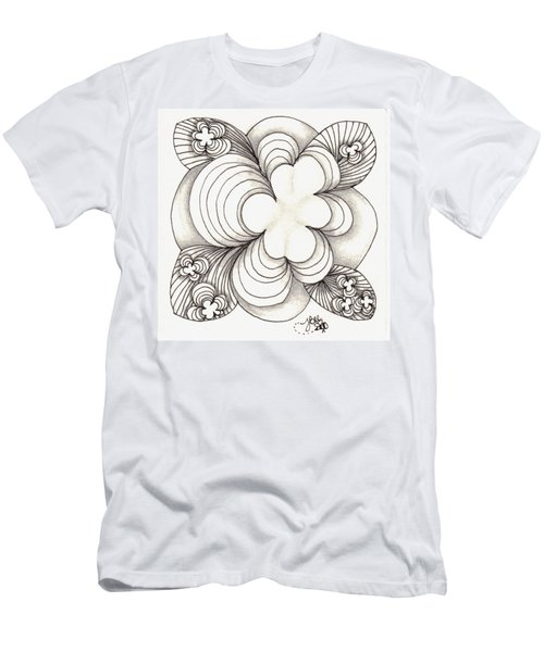 Popcloud Blossom Men's T-Shirt (Athletic Fit)