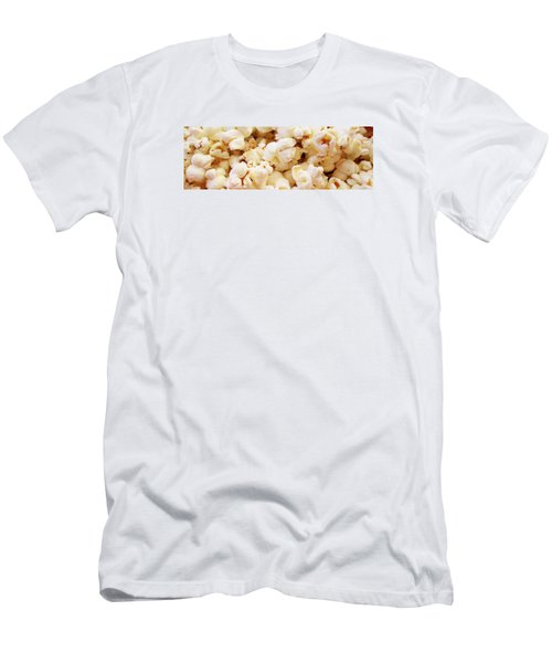 Popcorn 2 Men's T-Shirt (Slim Fit) by Martin Cline