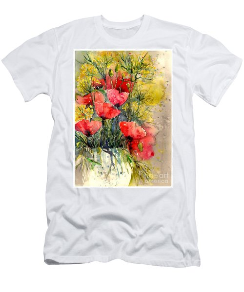 Poppy Impression Men's T-Shirt (Athletic Fit)