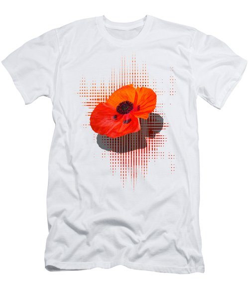 Poppy Passion Men's T-Shirt (Athletic Fit)
