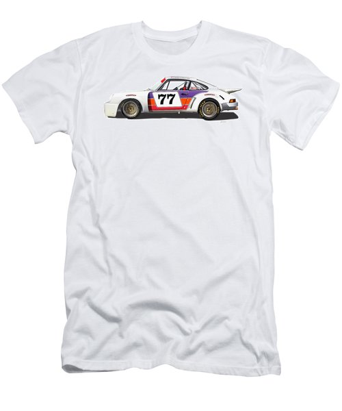 Porsche 1977 Rsr Illustration Men's T-Shirt (Athletic Fit)