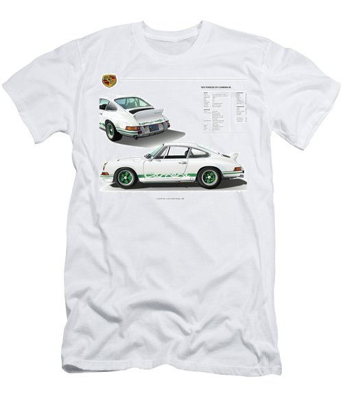 Porsche 911 Carrera Rs Illustration Men's T-Shirt (Athletic Fit)
