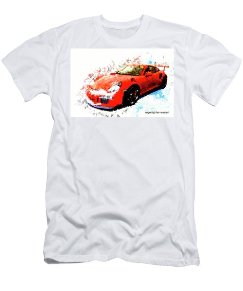 Porsche 911 Gts Men's T-Shirt (Athletic Fit)