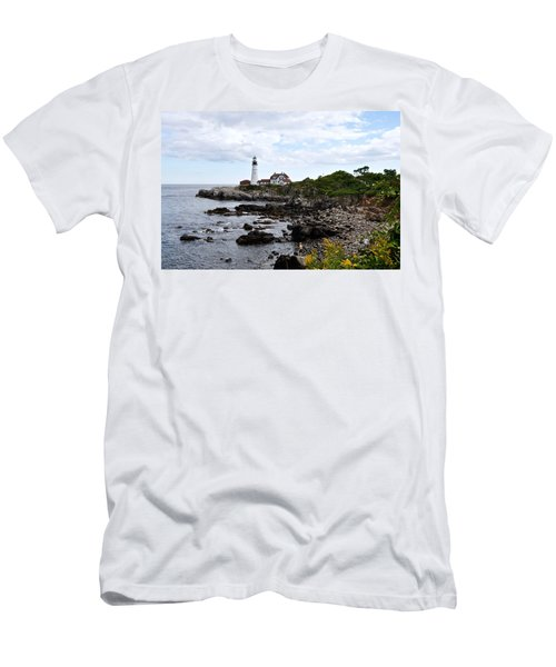 Portland Headlight II Men's T-Shirt (Athletic Fit)
