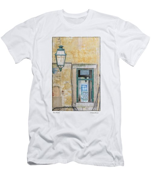 Porto Window Men's T-Shirt (Slim Fit) by R Thomas Berner