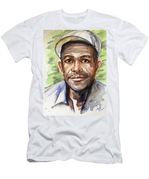 Portrait Of A Man Men's T-Shirt (Athletic Fit)