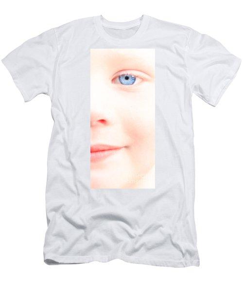 Portrait Of A Smile Men's T-Shirt (Slim Fit) by Bob Orsillo