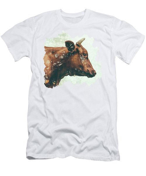 Portrait Of Bess Men's T-Shirt (Slim Fit) by Katherine Smit