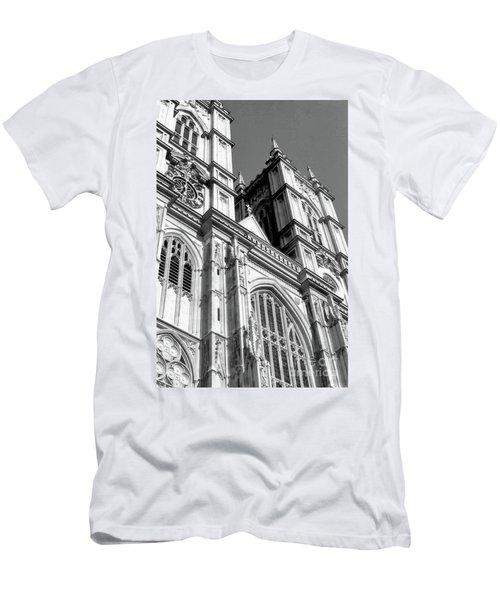 Portrait Of Westminster Abbey Men's T-Shirt (Athletic Fit)