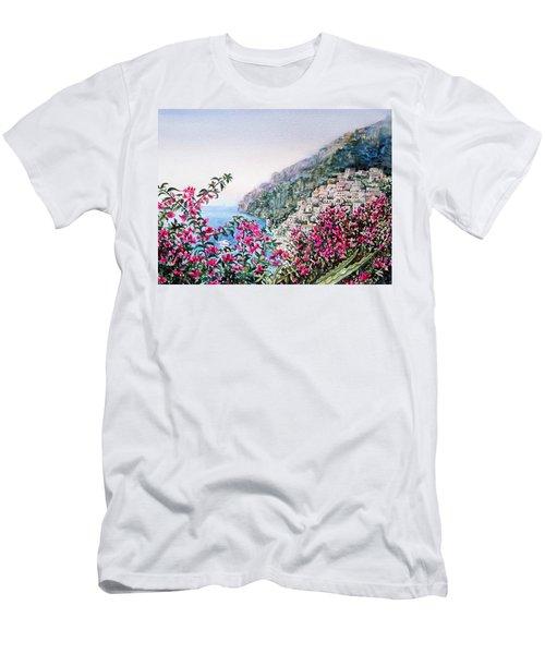 Positano Italy Men's T-Shirt (Athletic Fit)