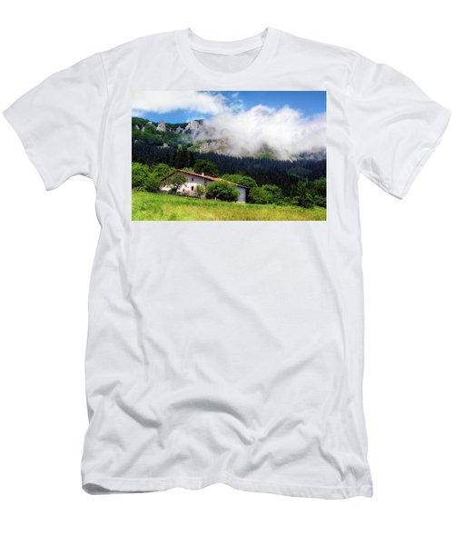 Postcard From Basque Country Men's T-Shirt (Athletic Fit)
