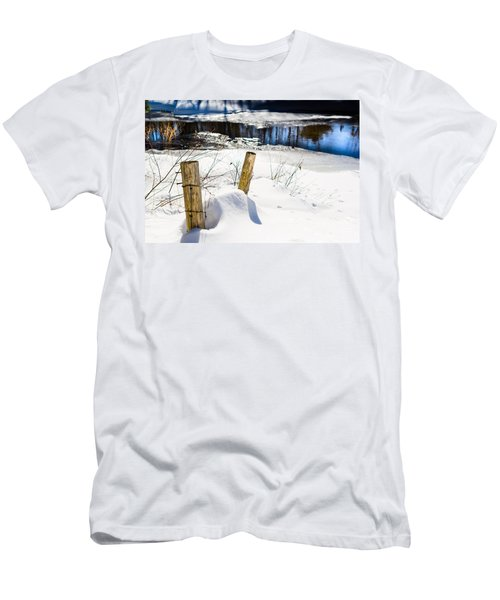 Posts In Winter Men's T-Shirt (Athletic Fit)